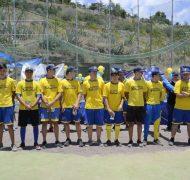 Integrantes del equipo U18 de Béisbol que participará en Julio al Campeonato de España de Clubes
